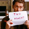 Glee: Will: too much?