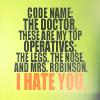 [DW/T] Mrs. Robinson.