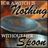 Lick-a-witch, Spoon, Witch