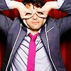 my name is jonas: [spn] misha; raccoon!