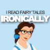 manonlechat: hipster belle: i read fairy tales ironic
