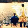 talli_approved: Dean/Cas Lake w/ Wings