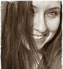 me sepia smile
