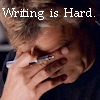 Writing is Hard!