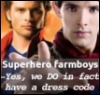 Superhero farmboys