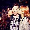 danni ϟ my patronus is a meerkat: Glee: Chris kisses