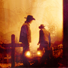 SPN: frontierland boys with lanterns