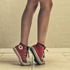 ножки в кедах