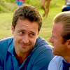 April: H50 Steve cute look at Danny