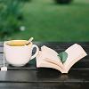 stock: tea & book