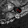 """Spider Queen"" w/ black widow"
