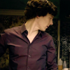 dansetheblues: sherlock purple shirt