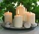 Свечи на зеленом