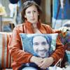 Miranda with Gary cushion