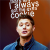 Becky: SPN Dean gets all the cookies