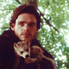 Robb and Grey Wind by ninneve