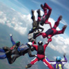 skydiving, 8 way