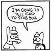 cartoon stab you