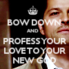bow down to Godstiel