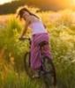 велосипед, Девушка