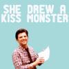 LunaMystik: Ben kiss monster