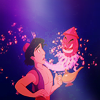 The hero of the story: Aladdin