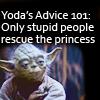 SW - Yoda's advice 101