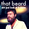 that beard