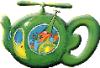 Flying Teapot, Green