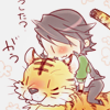 lilyginnyblack: chibi Kotetsu and Tiger