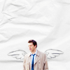 Nerdy Angel Castiel - Supernatural