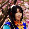 Ryuuren with cherry blossoms