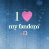 Frust-sheep: misc: I <3 my fandom