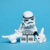 Empress Ena: Kitties and Lego Trooper