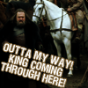 luvscharlie: Game of Thrones-- King coming through