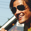 obsession for dorks: jared: aviators + dimples