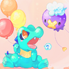 【Totodile+Drifloon】Want to fly