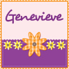 [misc] Genevieve purple