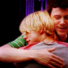 [glee] ;; sam/finn ;; hug