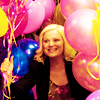 rachel-licious!: parks & rec -- leslie amidst the balloon