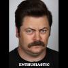ron mood: enthusiastic