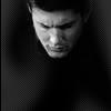 dean face somber b&w