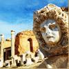 Античность (римские развалины и морда)