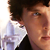 Sherlock close-up