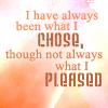 LMB I am who I choose