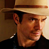 eradicating evil was always on my to-do list: raylan wat