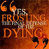 hunger games: frosting quote