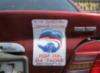 стикер на машине