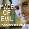 Nicole: Azazeal is made of evil awesome