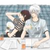 ceru-chan: 3Z gintaka studying